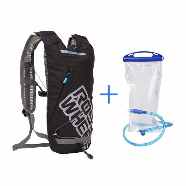 a70c3ab78 ROSWHEEL Hydration Pack with 2L Water Bag Lightweight Bicycle Backpack For  Outdoor Cycling Running Hiking Climbing