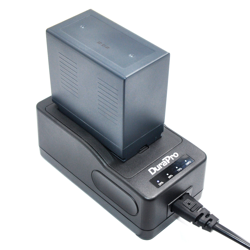 DuraPro 2Pcs CGR-D54 Batteries + Ultra Fast Charger for  Panasonic AG-DVC60 AG-DVX100 AG-DVC30 AG-DVX100A NV-MX2500 MX3000 MX5 1pcs cga s006 cga s006ebattery charger car charger for panasonic cgr s006a 1b bp dc5u cgr s006e