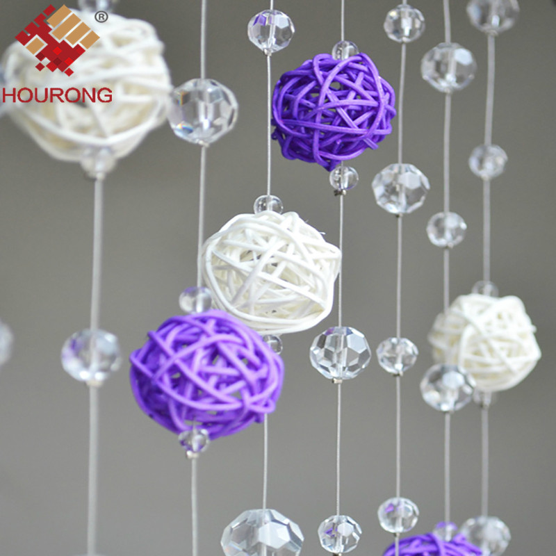 40Pcslot Decor Rattan Wicker Cane Ball 40cm Decoration Rattan Balls Simple Rattan Decorative Balls