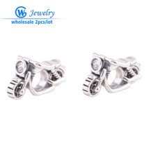 2pcs/lot motorbike charm germany charm for man genuine silver 925 charms for diy jewelry making GW Fashion jewelry X208(China)