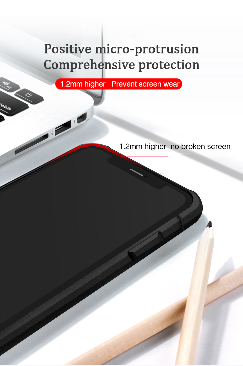 LUPHIE Luxury Transparent Case For iPhone X XS Max XR 8 7 Plus (2)