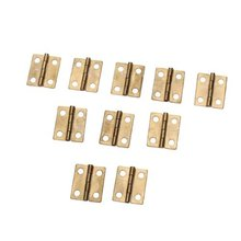 10x mini cabinet drawer rear hinge bronze