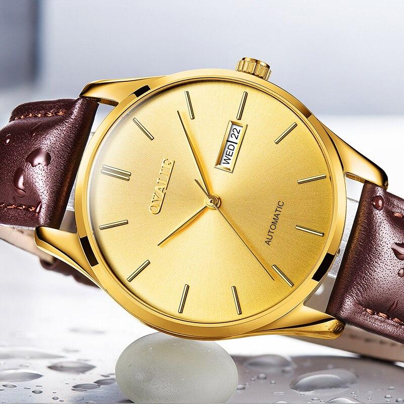 1042e94d094 OYALIE Cara Grande Relógios Automáticos Masculinos Ouro Dial Men Mecânica relógios  de Pulso de Luxo Top. R  416