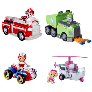 Image 5 - Genuine Spin Master Paw Patrol RESCUE RACERS VEHICLE Skyes High Flyin Copter Ryders Rescue ATV Vehicle and Figure children toy