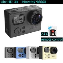 Action Camera NTK96660 Ultra 4K HD 2.0″ Dual Screen Waterproof 170D Lens Extreme Sport camera