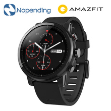 NEW Original Huami Amazfit Stratos Smart Sports Watch 2 5ATM Water Resistant 1.34′ 2.5D Screen GPS Firstbeat Swimming Smartwatch