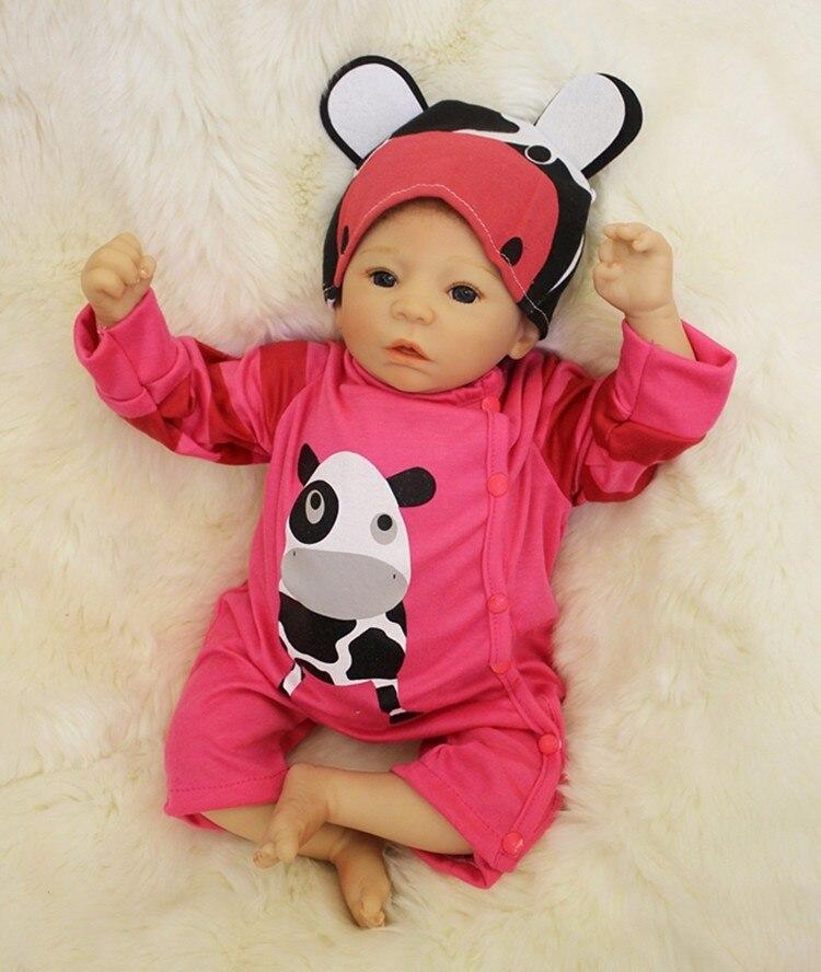 KEIUMI 50 cm Babies Boy Real Like Sleeping Reborn Baby Dolls 20 Soft Silicone Body Lifelike