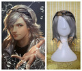 High quality  New movie X-Men Quicksilver Hair Halloween Costume Party Cosplay Wig no glass