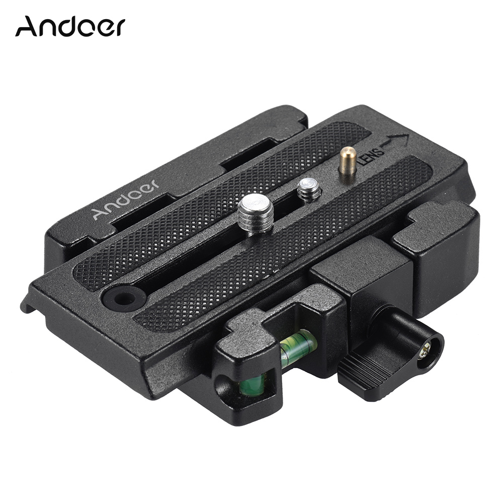 Andoer camera quick release plate clamp