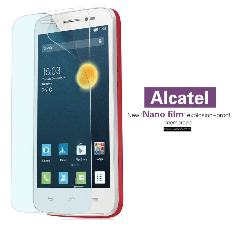 Nano Soft Film For <font><b>Alcatel</b></font> OneTouch Pop 2 5 Premium 4 Plus 5056D 7044Y Icon Star 3G 5022D T'Pop 4010D 2 (5)<font><b>7043K</b></font> Astro Up 6044D image