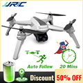 JJRC JJPRO X5 Professional Drone 5G WiFi FPV GPS Positioning Quadcopter 1080P Camera Point Of Interesting Follow Brushless Motor