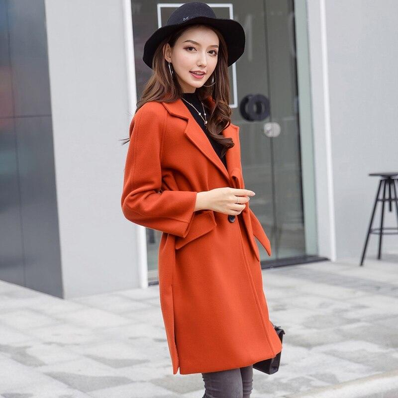 f39273b26 2018 New Fashion Female Autumn Winter Warm Wool blends Women's Belt ...