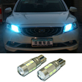 2x T10 LED W5W Car LED Auto Lamp 12V Light bulbs with Projector Lens for Geely emgrand EC7 ec715 ec718 EC7-RV EC715-RV EC718-RV