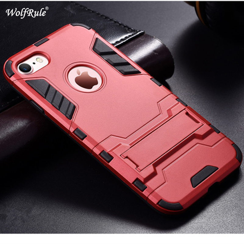 Shockproof Hybrid Heavy Duty Rugged Rubber Cover Skin Stand Phone Case For iPhone 5 5s