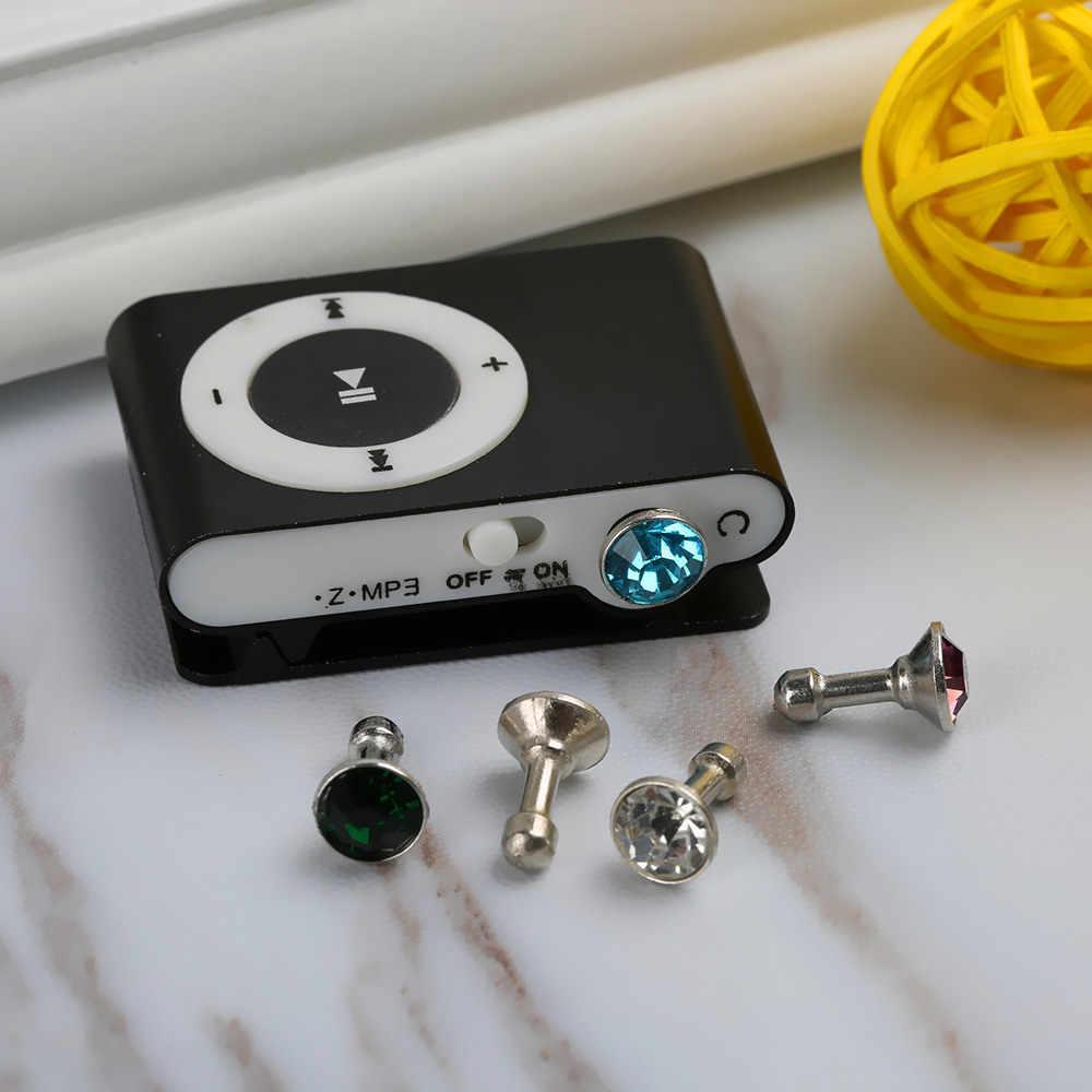 1 adet Evrensel 3.5mm Jack Kulaklık Kulaklık Anti Toz Fişi Cep telefonu Kulaklık Ses için Toz Geçirmez Fiş apple Iphone 5 6 ADET 70