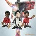 3 шт./лот 10 см Q стиль Майкл Джексон Фигурку игрушки куклы лучший Рождественский подарок и может Подвижный сустав