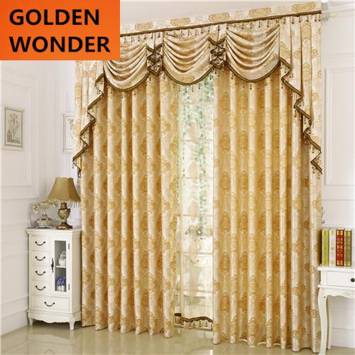 Jacquard Roman Blinds Fashion Luxury Home Textile Finished Product Bedroom Curtain New Arrival Curtains For Window