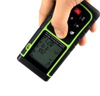 Portable Uesful 40M 131ft Digital Laser Distance Meter Hand Held Range Finder LCD Measure Diastimeter 25