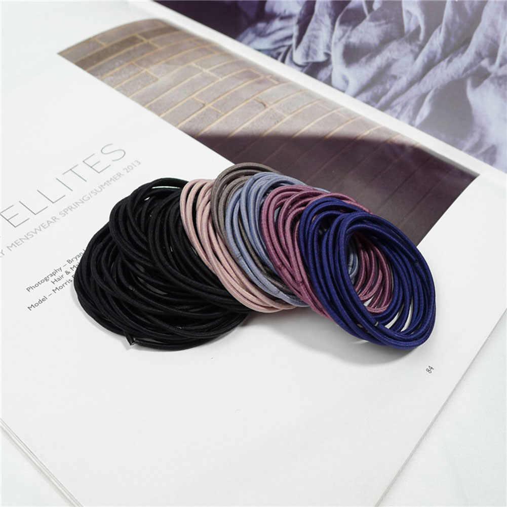 1 шт. мини модная повязка для волос конфетного цвета резиновый зажим для галстука эластичные резинки для хвостика Держатель для детей аксессуары для волос