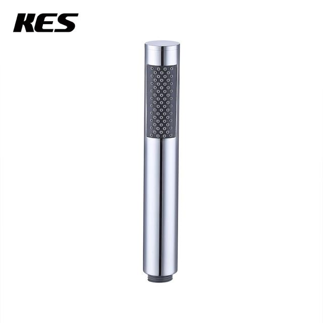 KES Round Handheld Shower Head with Rub Clog free Nozzles SUS304 ...