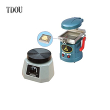 TDOUBEAUTY Dental Lab Vacuum Forming Molding Former Machine JT-18 + Round Vibrator Vibrating JT-14 NEW Brand Free Shipping