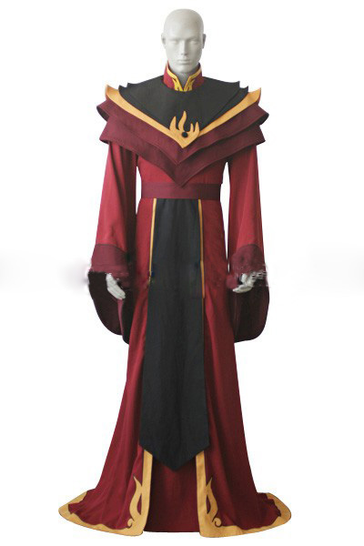 Free shipping Avatar the Last Airbender Fire Lord Ozai Cosplay Costume Halloween