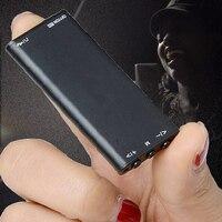 HYM-1038 4 GB oyuncu pil 20 H mesafe 20 metre ses kaydedici kalem zaman damgası, ses aktif dijital ses kaydedici + FM