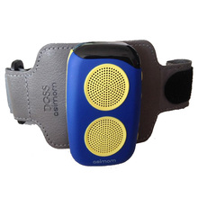 OUTDOOR M15 Bluetooth Speaker Smart Wearable Pedometer Portable Sports Speakers Running Boombox Stereo Loudspeakers FM Radio