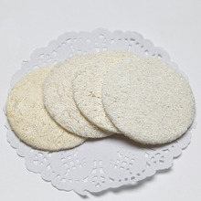 1PCS Natural Loofah Sponge Bath Rub Exfoliate Glove Oval Towel Body Shower Scrubber Pad D5