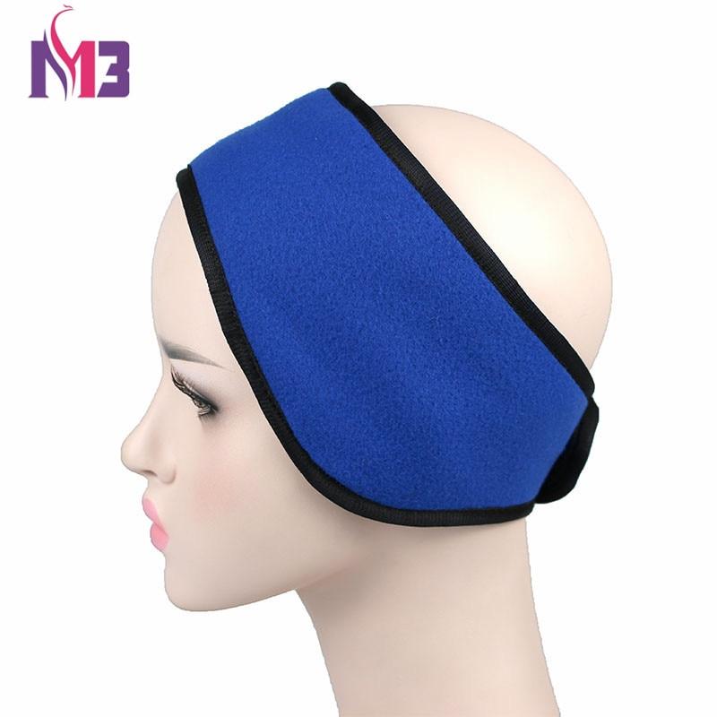 Unisex Women Men Ear Warmer Winter HeadBand Polar Fleece Ski Ear Muff Stretch Spandex Headband Hairband Hair Accessories in Men 39 s Earmuffs from Apparel Accessories