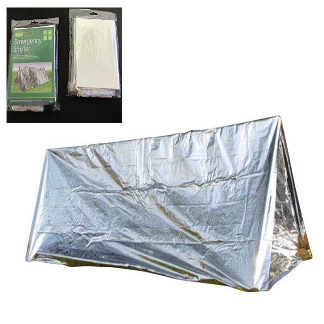 Outdoor SOS Shelter Emergency Shelter Ultralight Camping Emergency Tube Tent First Aid Gear Tools
