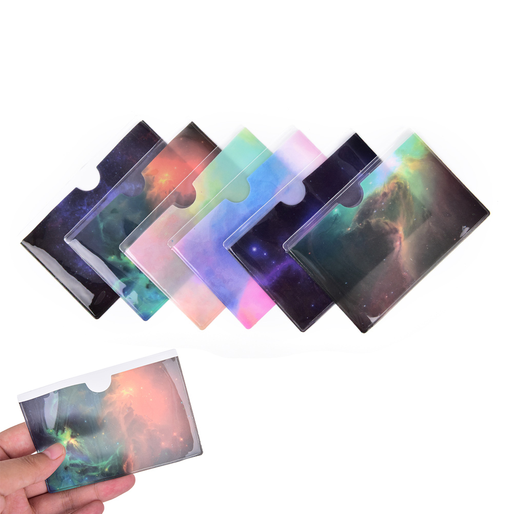 Waterproof PVC ID Credit Card Holder Plastic Card Protector Case To Protect Credit Cards Bank Cardholder ID Card Cover 11Colors in Card ID Holders from Luggage Bags