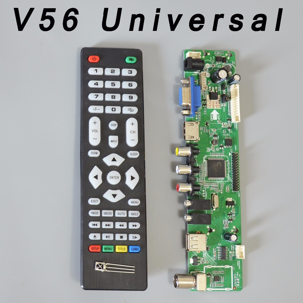 Tv Board Gt Led Circuit Boardtv Support Hdmiusb Lp1 D Dc Operating Contactor Cjx2 1810z 1801z 18a Dc24v Dc110v V56 Universal Lcd Controller Driver Pc Vga Hdmi Usb Interface