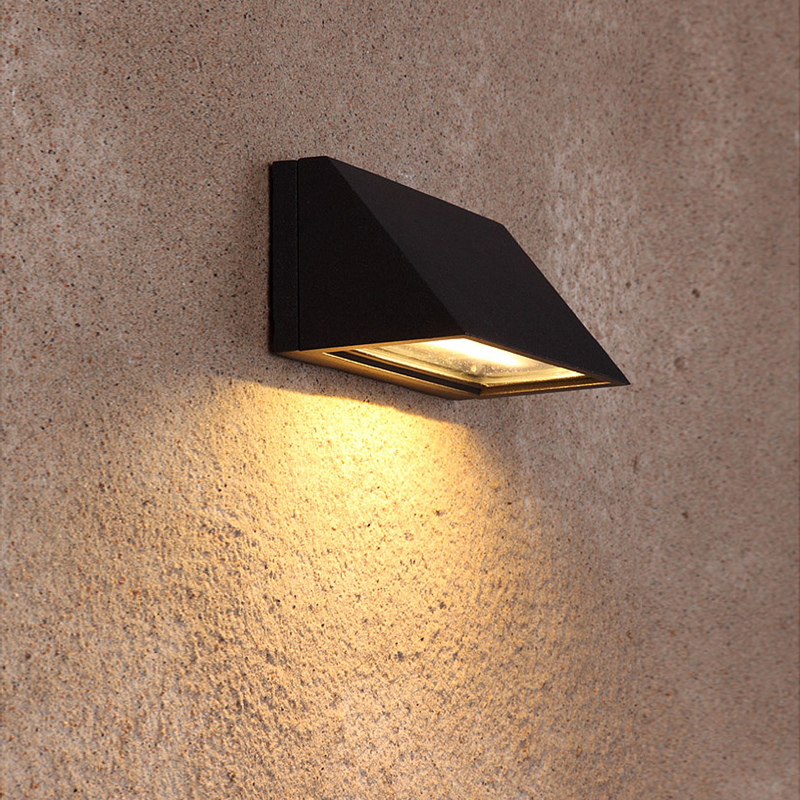 Waterproof Outdoor Lighting Garden Wall Lamp Cast Aluminum Wall Sconce Luxury Home LED Wall Lamps Creativity Art Porch Lights