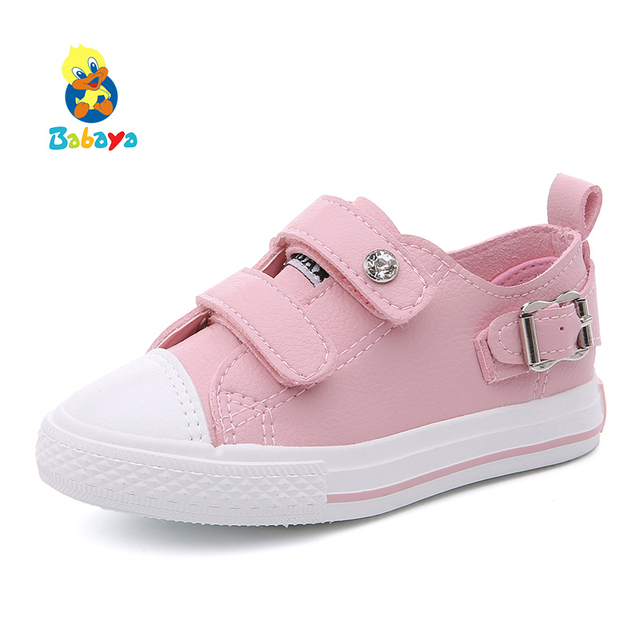 new style eeeae d758f Boys Girls Sneakers 2019 Spring Children Causal Shoes Baby Girls White  Shoes Kids Flat Shoes Toddlers Comfortable Trainers