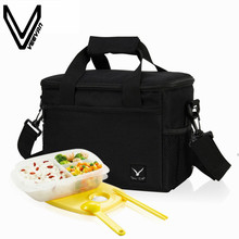 d708569fc1 VEEVANV New Folding Large Meal Package Lunch Bag Crossbody Women Child Cold  Storage Take-away