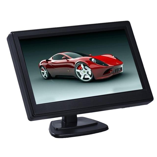 Новое Прибытие 5 Дюймов Высокое Разрешение HD 800X480 Автомобиля TFT ЖК-Монитор 2ch Видео