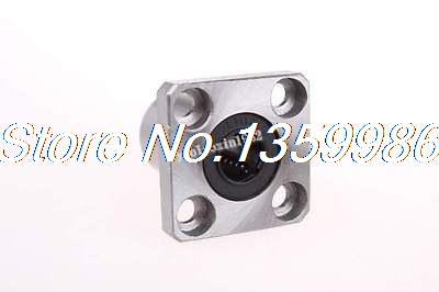 10p LMK10UU 10x19x29mm Round Flange Type CNC Linear Motion Rubber Shield Bearing цены