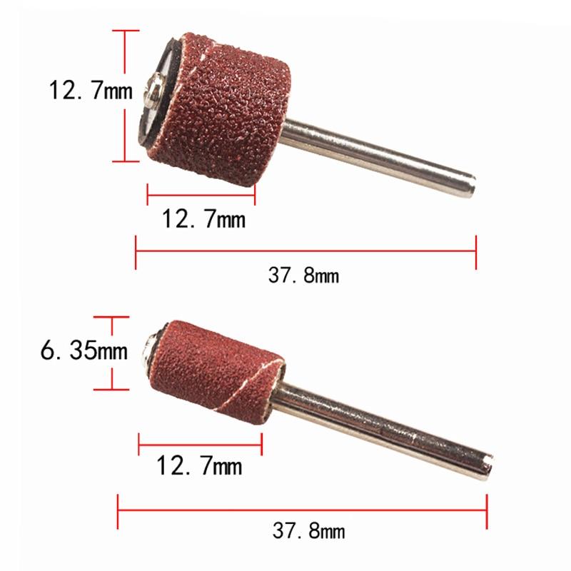 300 sztuk 1/4 1/2 papieru ściernego ściernica dremel narzędzie - Narzędzia ścierne - Zdjęcie 2