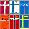 Denmark finland island Nederland norway sweden National flag camping hockey towel quick drying soccer fans travel swimtowel