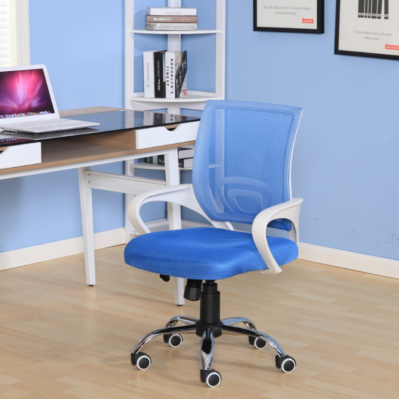 Portable Simple Office Chair Mesh Cloth Breathable Staff Computer Chair  Meeting Comfortable Lifting Leisure Swivel Chair In Conference Chairs From  Furniture ...