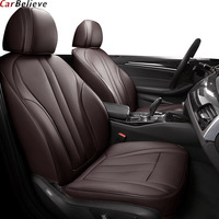 Car Believe Genuine Leather car seat cover For chrysler 300c 2013 2014 2015 2016 car accessories covers for car seats
