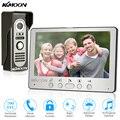 KKmoon 7'' TFT LCD Wired Video Door Phone System Visual Intercom Doorbell Indoor Monitor 700TVL Waterproof Outdoor IR Camera
