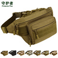 pockets  Casual travel mountaineering pockets chest pack waist bag men  A3165