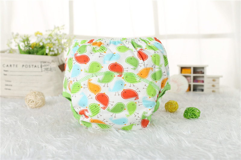 1 Piece Baby Training Pants Baby Diaper Reusable Nappy Washable Diapers Cotton Learning Pants 7 Designs Free Shipping in Baby Nappies from Mother Kids