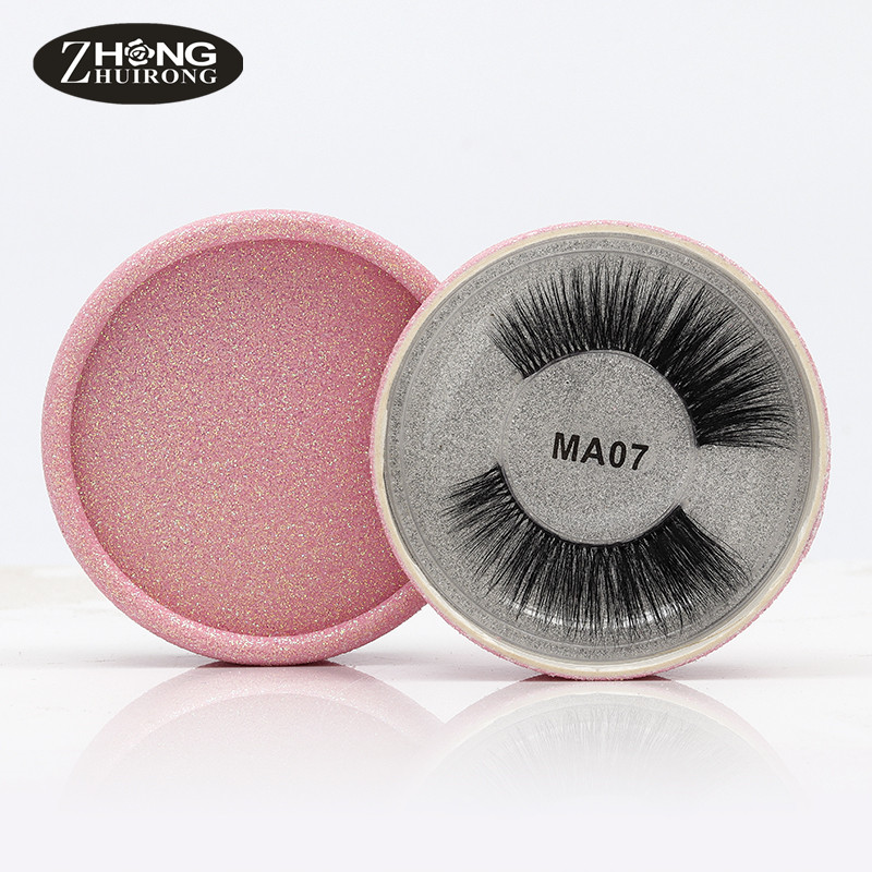 3D Silk Protein False Eyelashes Soft And Comfortable Reusable Handmade Natural Eyelashes Popular False Eyelash Makeup