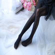 Women Mesh Pantyhose Stockings Carving Women Tights Lace Woman Silk Stockings Hollow Out Tights mesh panel tights