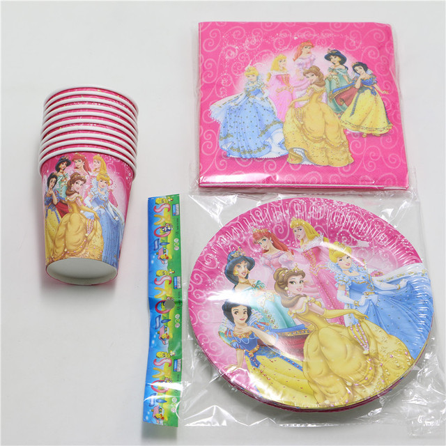 40pcs/lot Happy Luxury Child Birthday Decoration Party Princess Theme Supplies Girls Decoration Set for  sc 1 st  AliExpress.com & 40pcs/lot Happy Luxury Child Birthday Decoration Party Princess ...