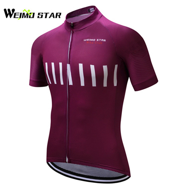 f62e9cba240 WEIMOSTAR Men Cycling Jersey Short Sleeve Breathable Ropa Ciclismo Outdoor  Polyester Summer Sportwear Clothing S-3XL Quick-dry