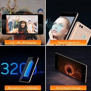 """Image 5 - LEAGOO potencia 2 Identificación facial huella dactilar teléfono inteligente 2GB + 16GB de cámara Dual 3200mAh Android 8,1 MT6580A Quad Core 5,0 """"HD teléfono móvil"""
